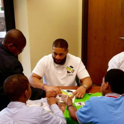 Career Fair event with the Black Rhinos Mentoring Group