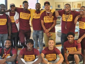 Printed shirts for the Central State University Student Ambassadors