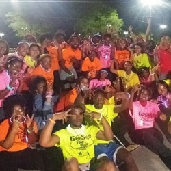 Central State University Glow Run