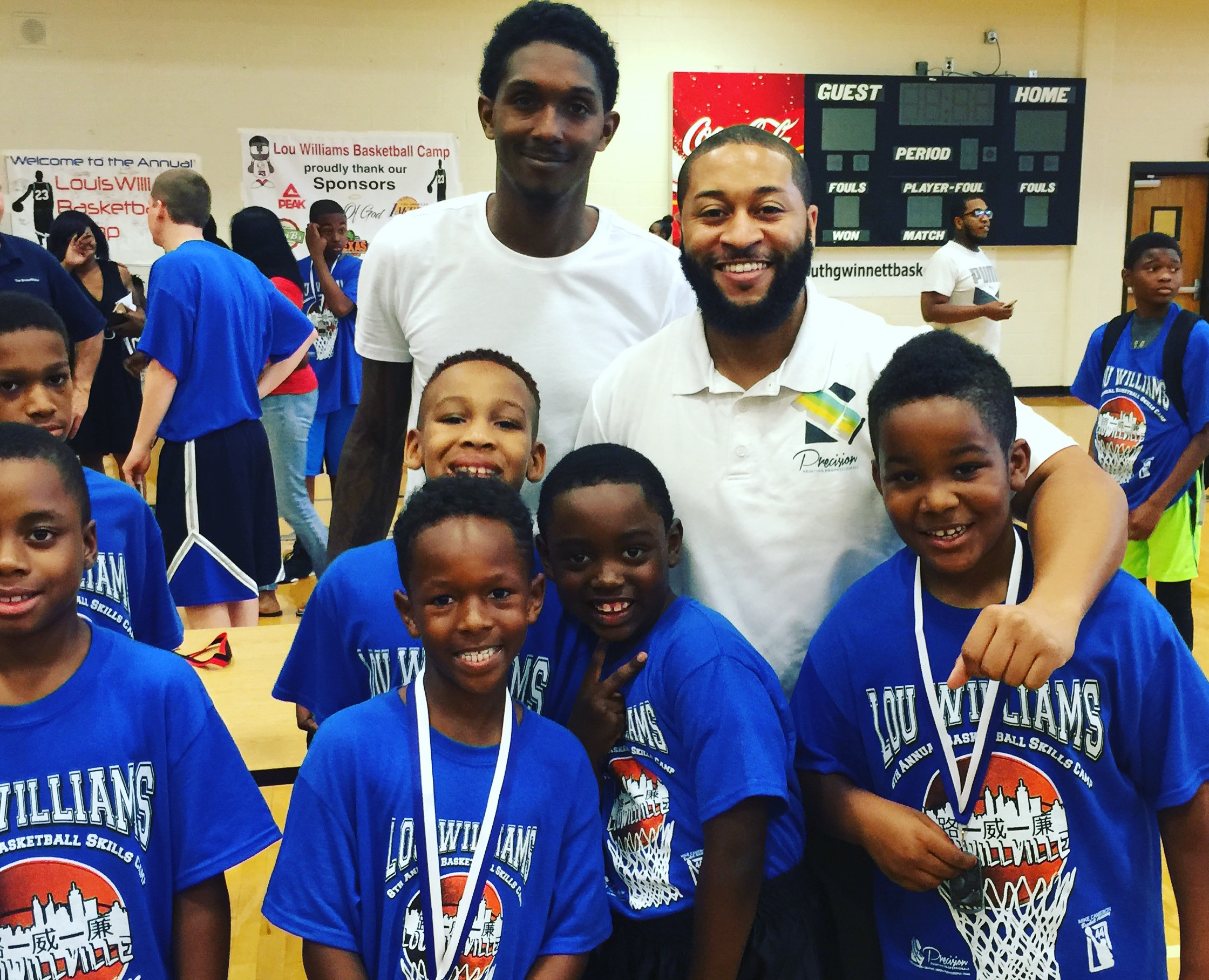 Lou Williams Basketball Camp